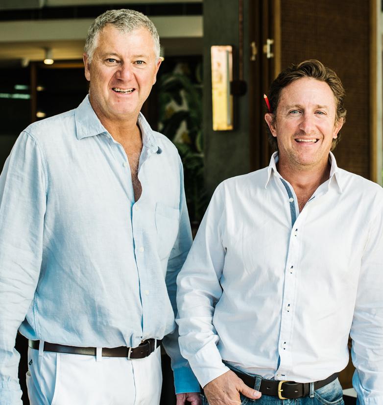 Simon Tilley and Nick Wills
