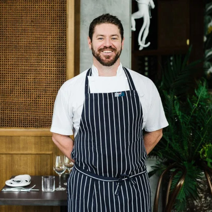 Brad Sloane Executive Chef for Tilley and Wills